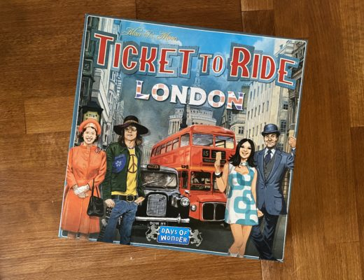 Family fun with Ticket to Ride London