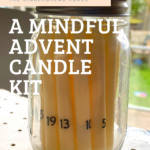 Our Mindful advent candle kit