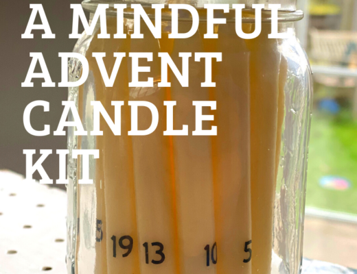 Our Mindful advent candle countdown