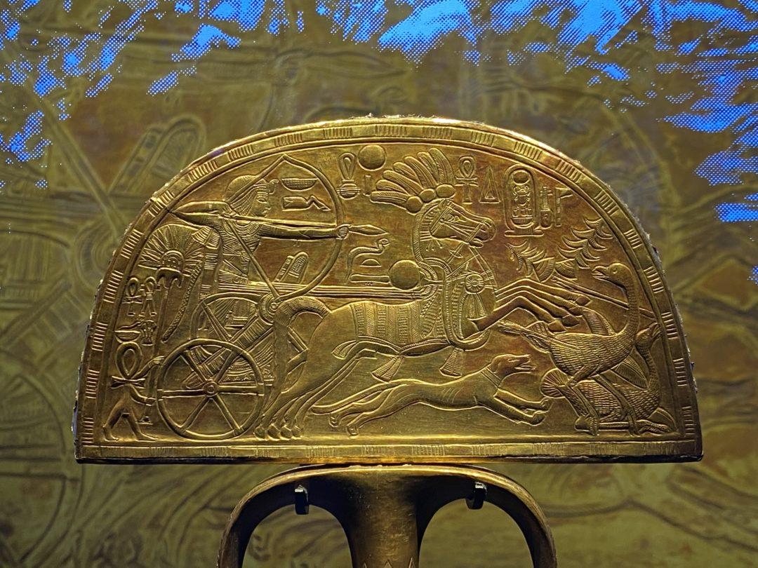 Tutankhamum: Treasures of the Golden Pharaoh at the Saatchi Gallery
