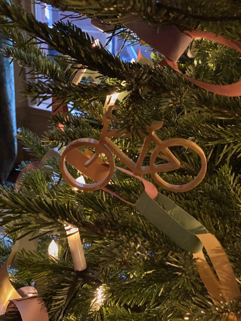 vintage ornaments at Hughenden