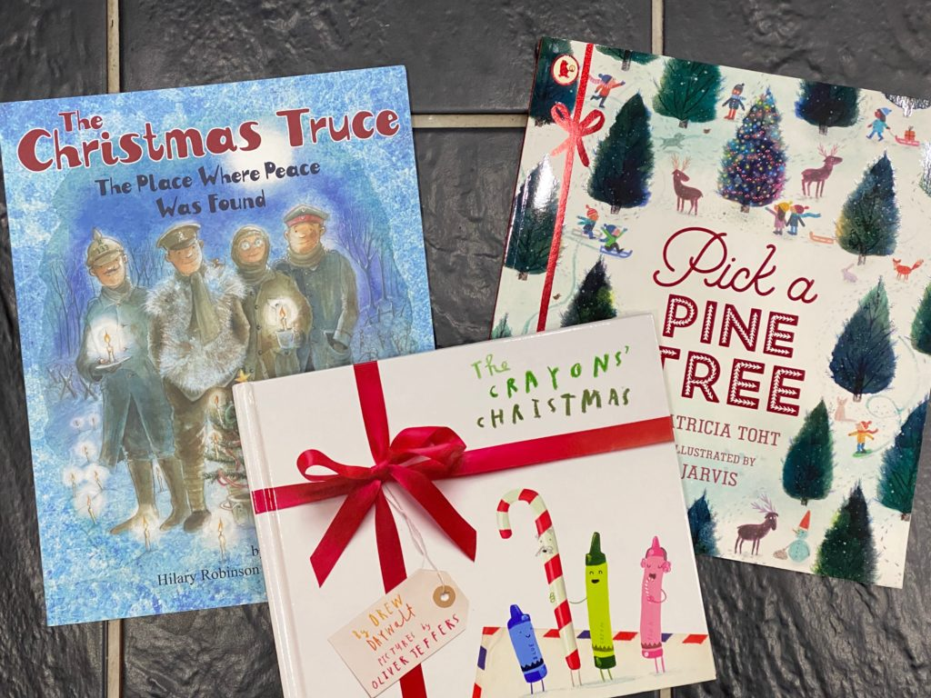 how to choose books for a book advent