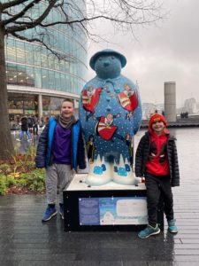 Snowman art trail london