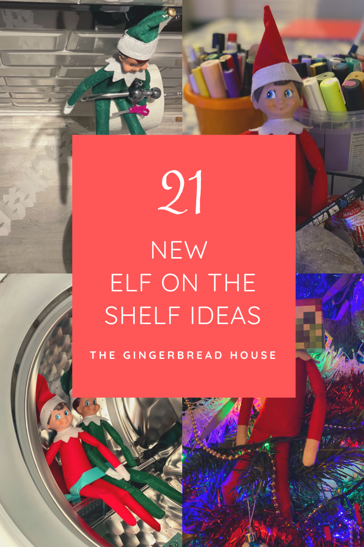 21 new Elf on the Shelf ideas