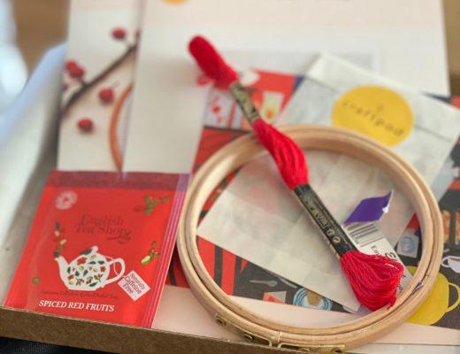Crafting: Winter Craftpod subscription box