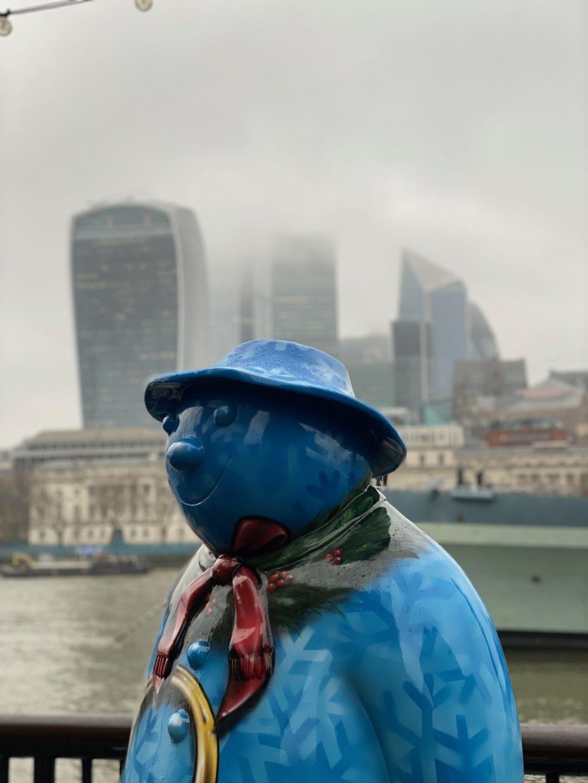 Walking the Snowman trail London