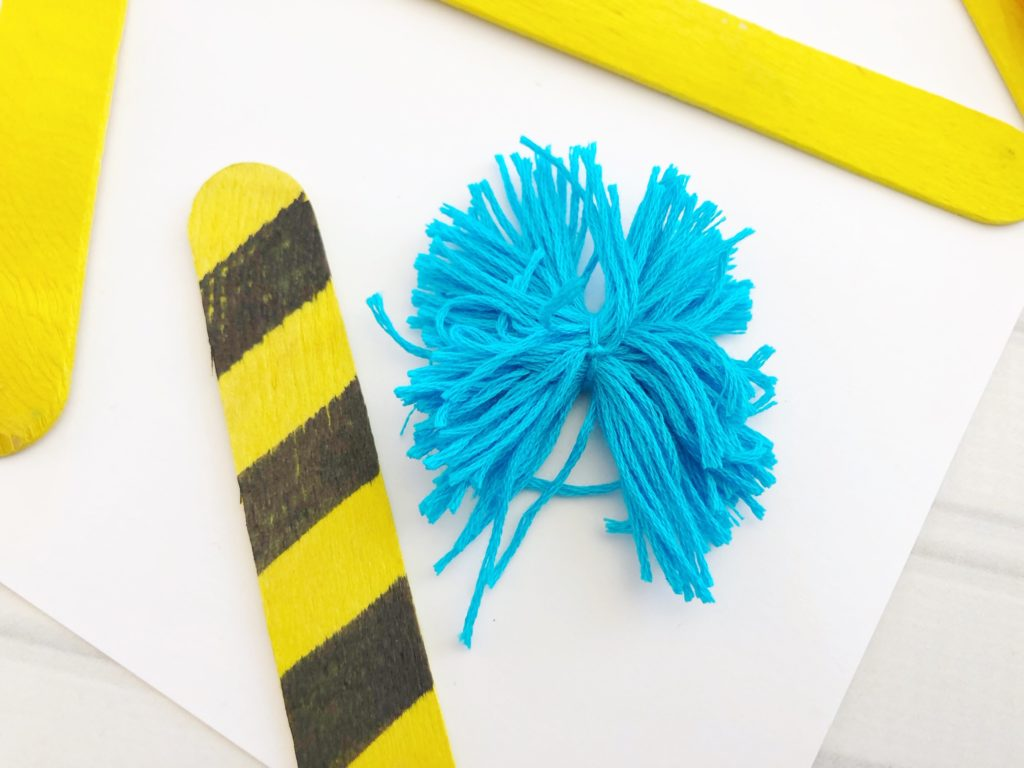 Truffula craft for kids