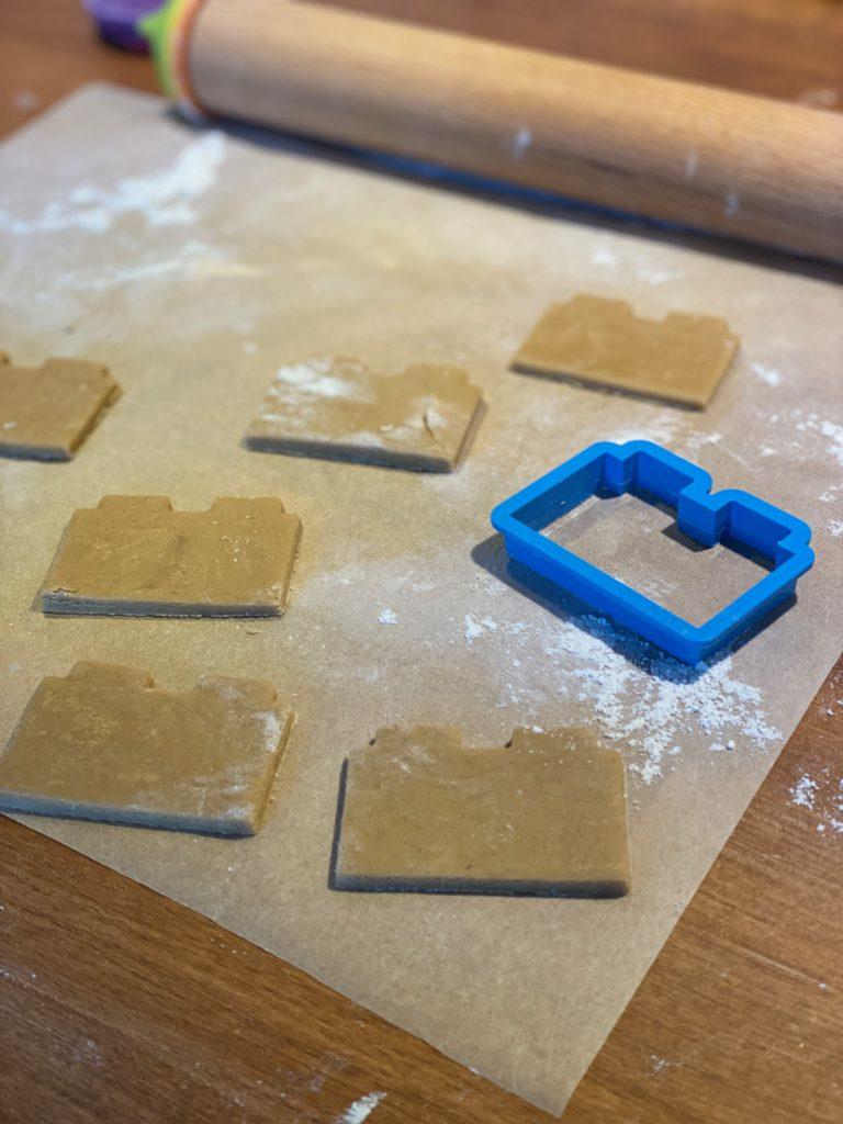 lego brick cookie cutter