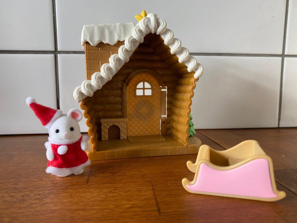 Marshmallow Mouse Baby Santa