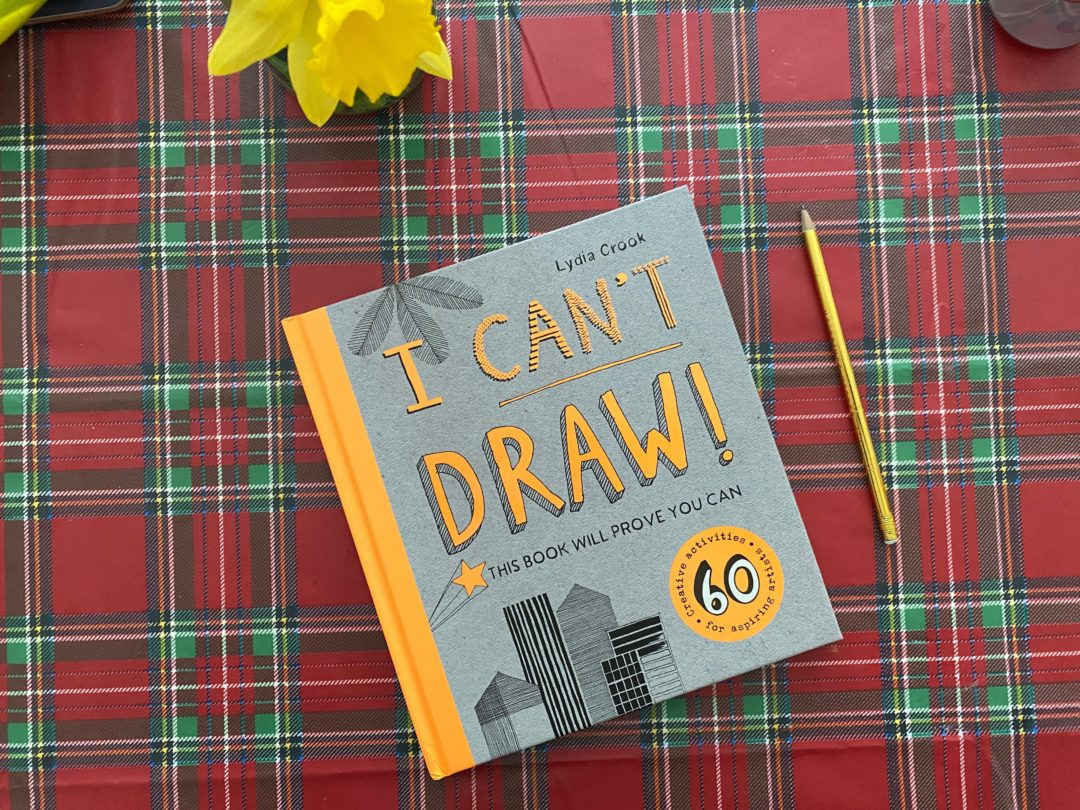 I Can't Draw {book review}