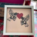 Valentine paper crafting {Love Paper Box from MakeBox + Co}