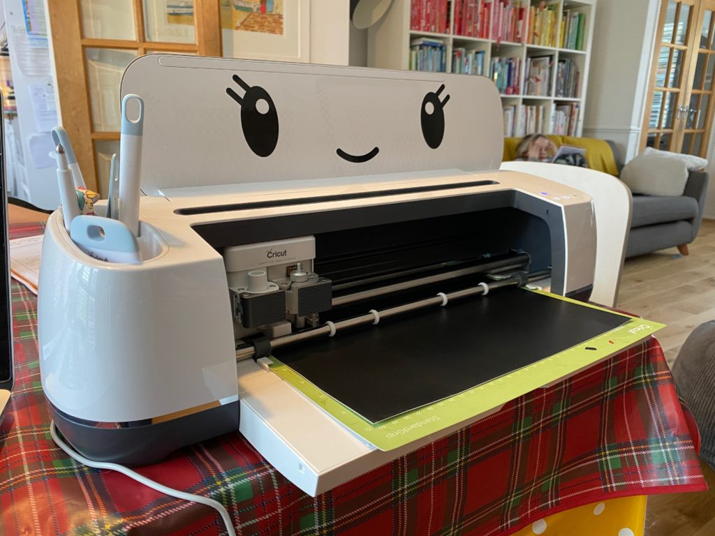 Cricut art for World Book Day
