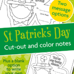 {FREE} St Patrick's Day printable notes