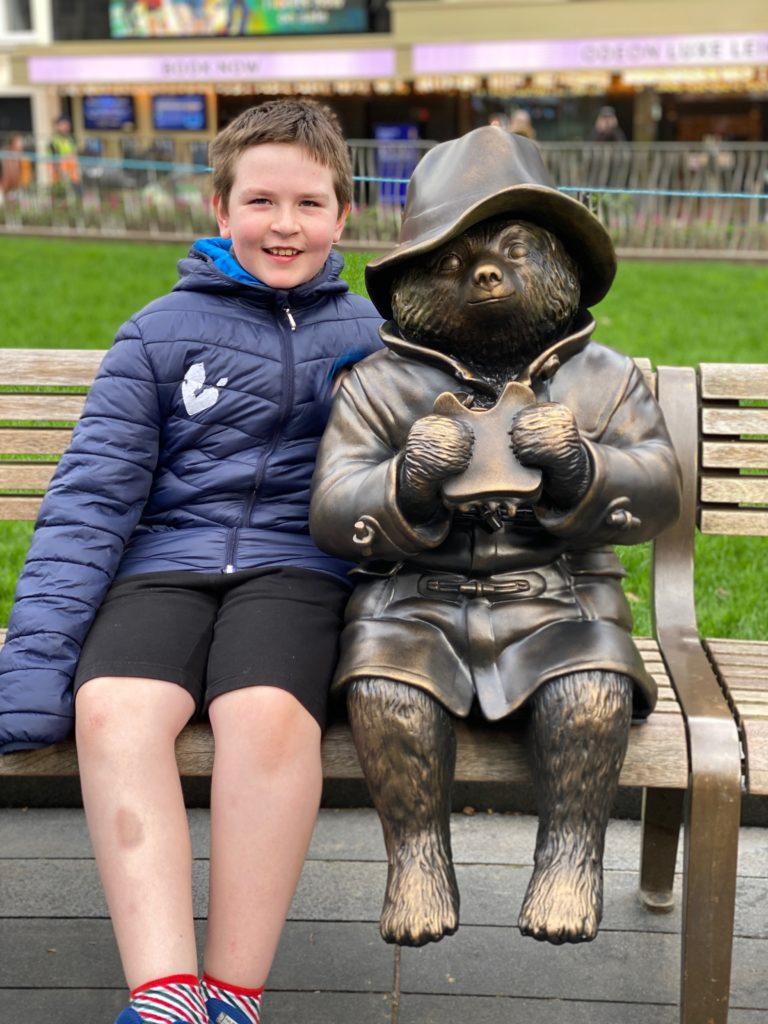 Paddington Bear statue London