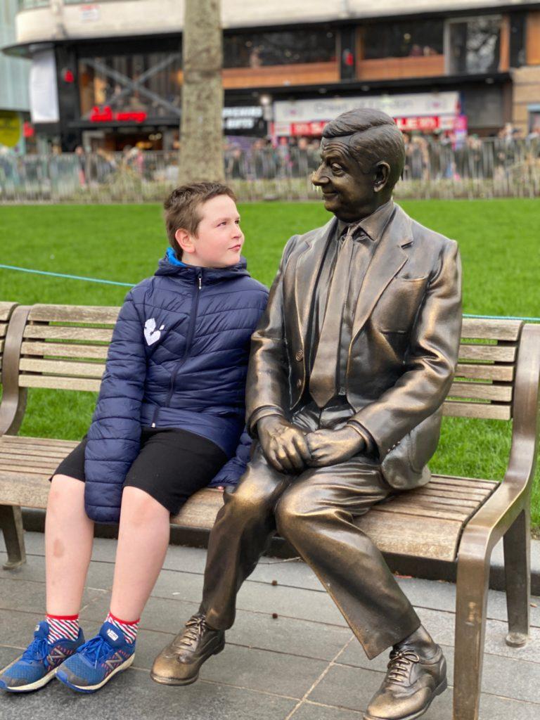 Mr Bean statue London