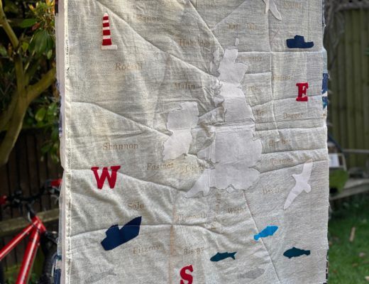 The Shipping Forecast quilt