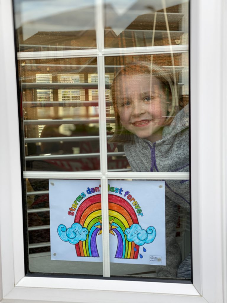 Why there are rainbows in windows