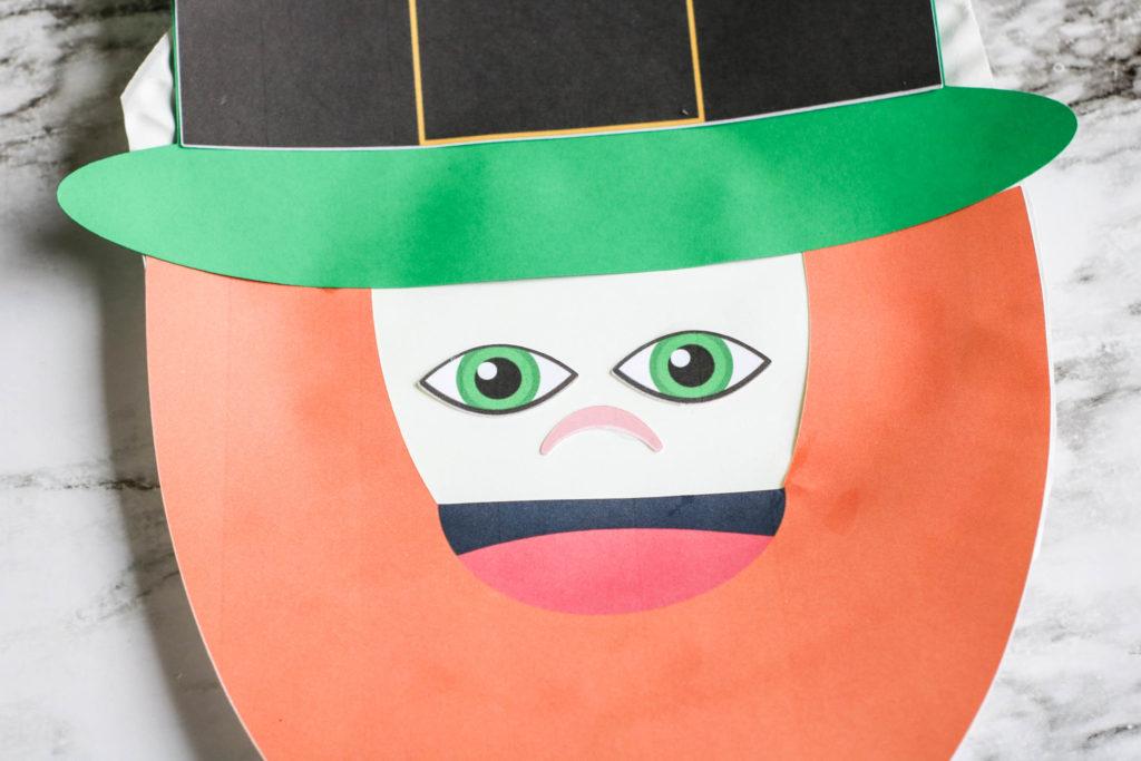 Leprechaun paper plate