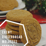 {Recipe} Chewy Gingerbread molasses cookies