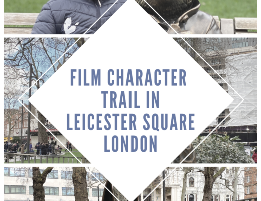 Exploring the film character statue trail in London's Leicester Square