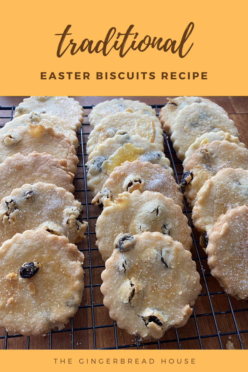 Traditional Easter biscuits recipe
