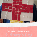 St George's Day mosaic for kids