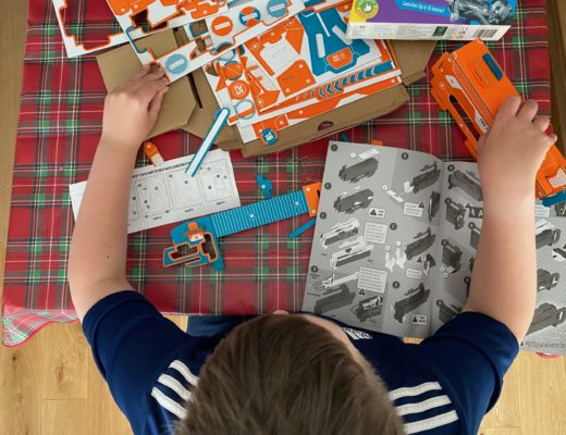 STEM fun with the Build Your Own Plane Launcher Kit