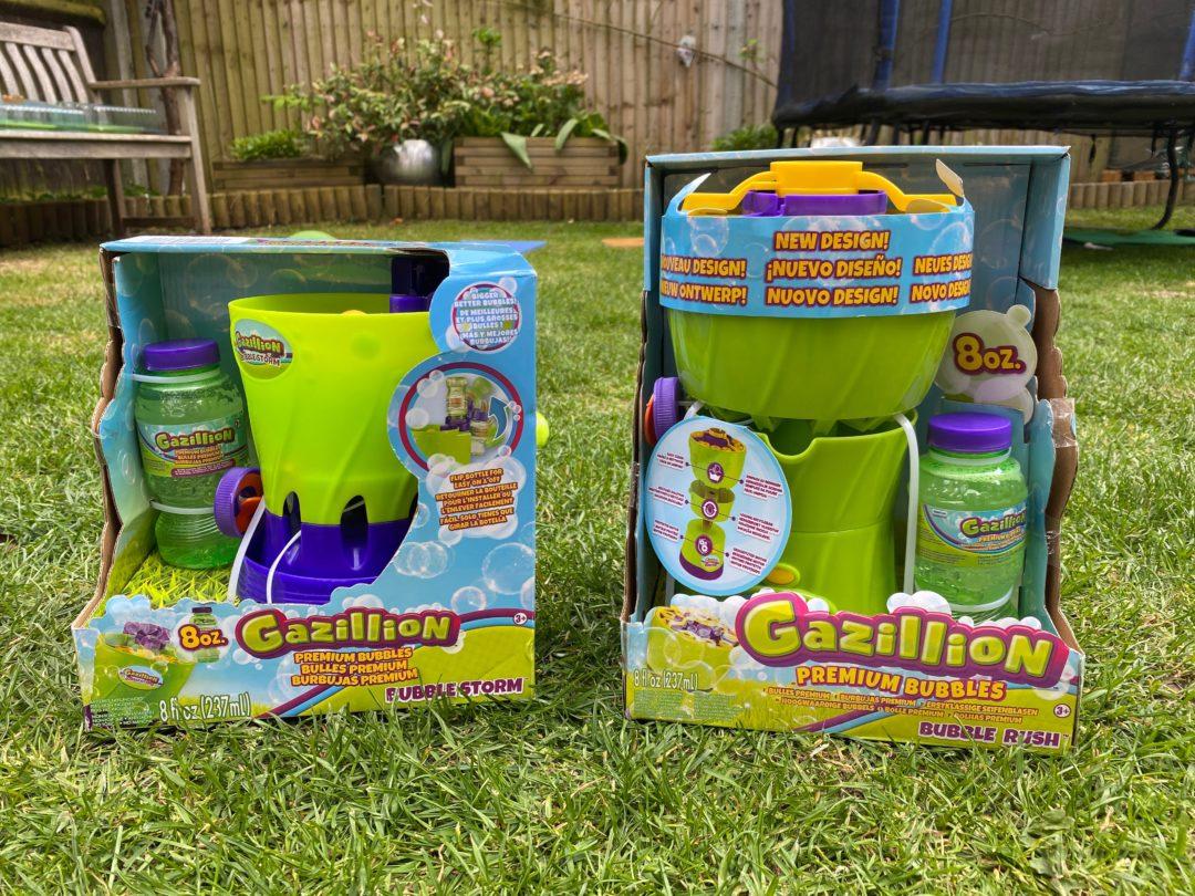 Garden fun with Gazillion bubbles
