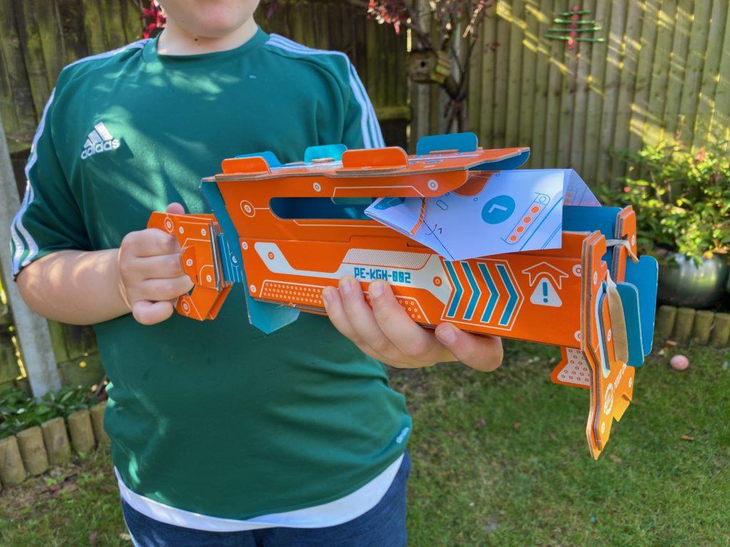 cardboard plane launcher