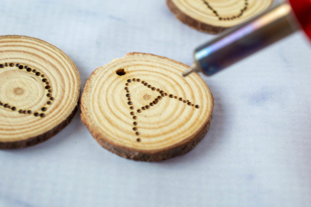 Father's Day wood burning craft