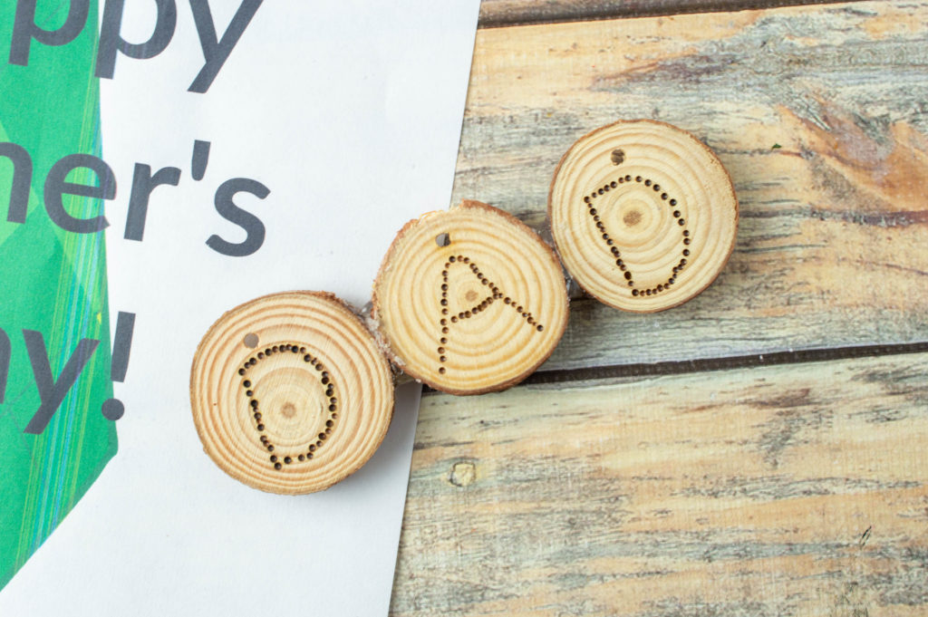 Father's Day magnet craft