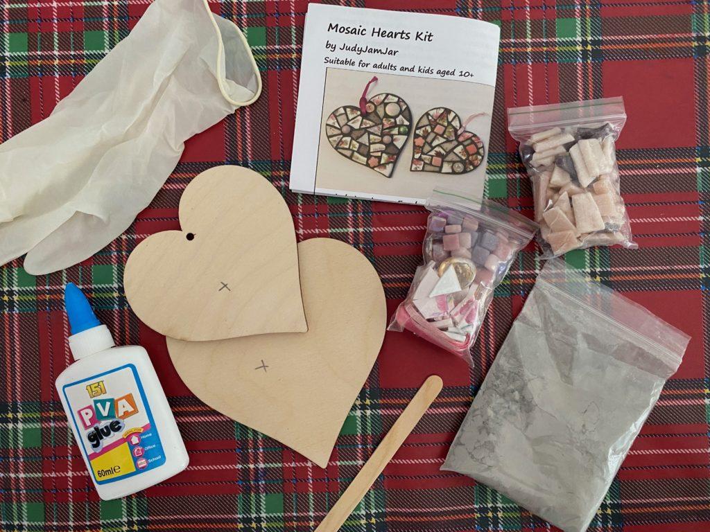 mosaic craft kit