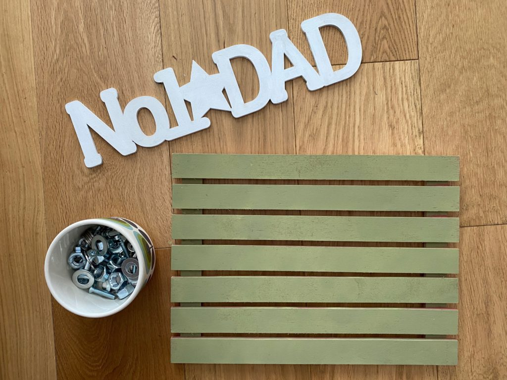 Fathers Day craft supplies
