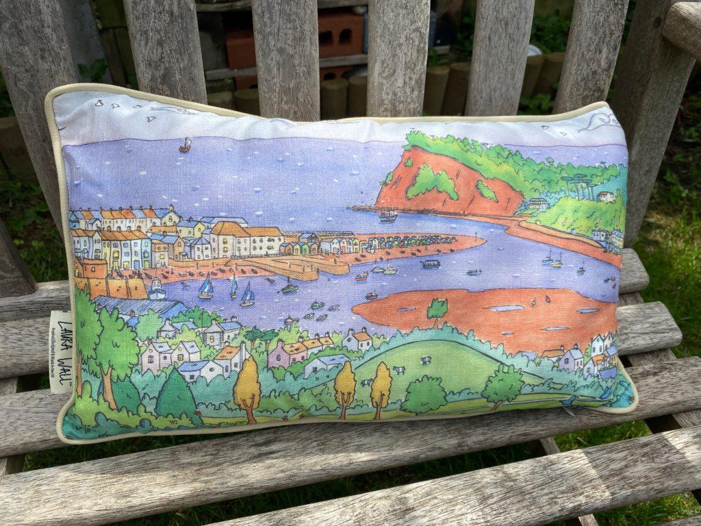 Laura Wall cushion