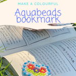 Make a colourful bookmark with Aquabeads