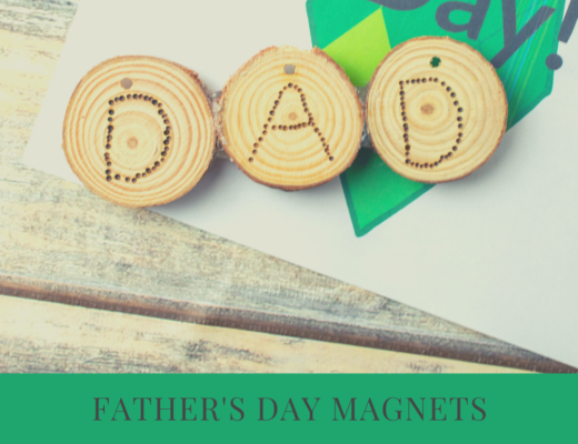 Father's Day wood burning craft for tweens