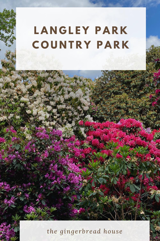 A trip to Langley Park Country Park, Bucks