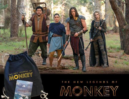 Win The New Legends Of Monkey merch