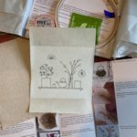Serene Spring embroidery with the Spring Craftpod box