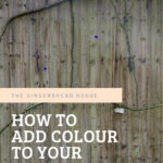 How to add colour to your garden fence with marbles