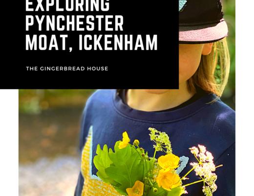 Exploring Pynchester Moat, Ickenham