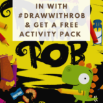 How to join in with Draw With Rob {free activity pack}