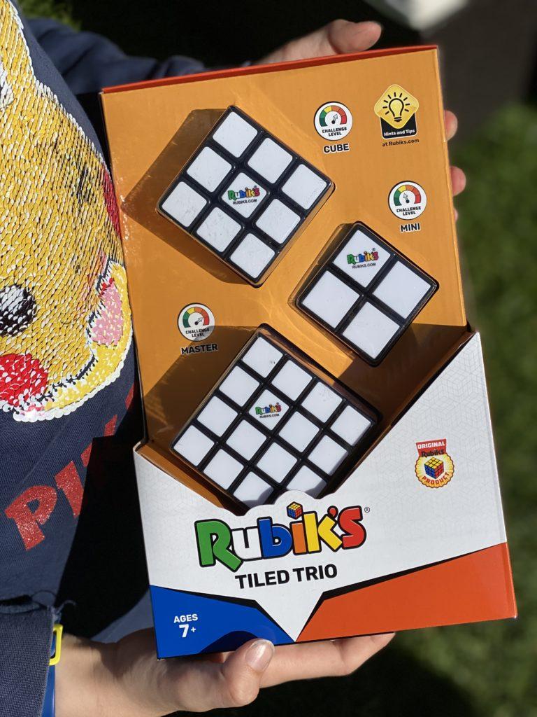 new 40th anniversary Rubik's cubes
