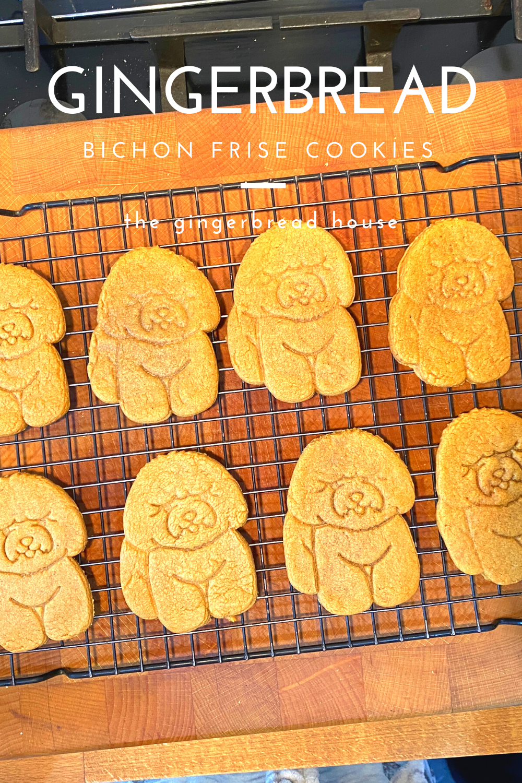 Easy Bichon Frise cookies