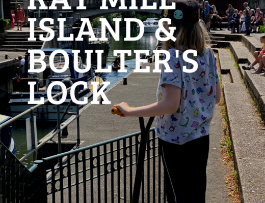 a trip to Ray Mill Island and Boulter's Lock