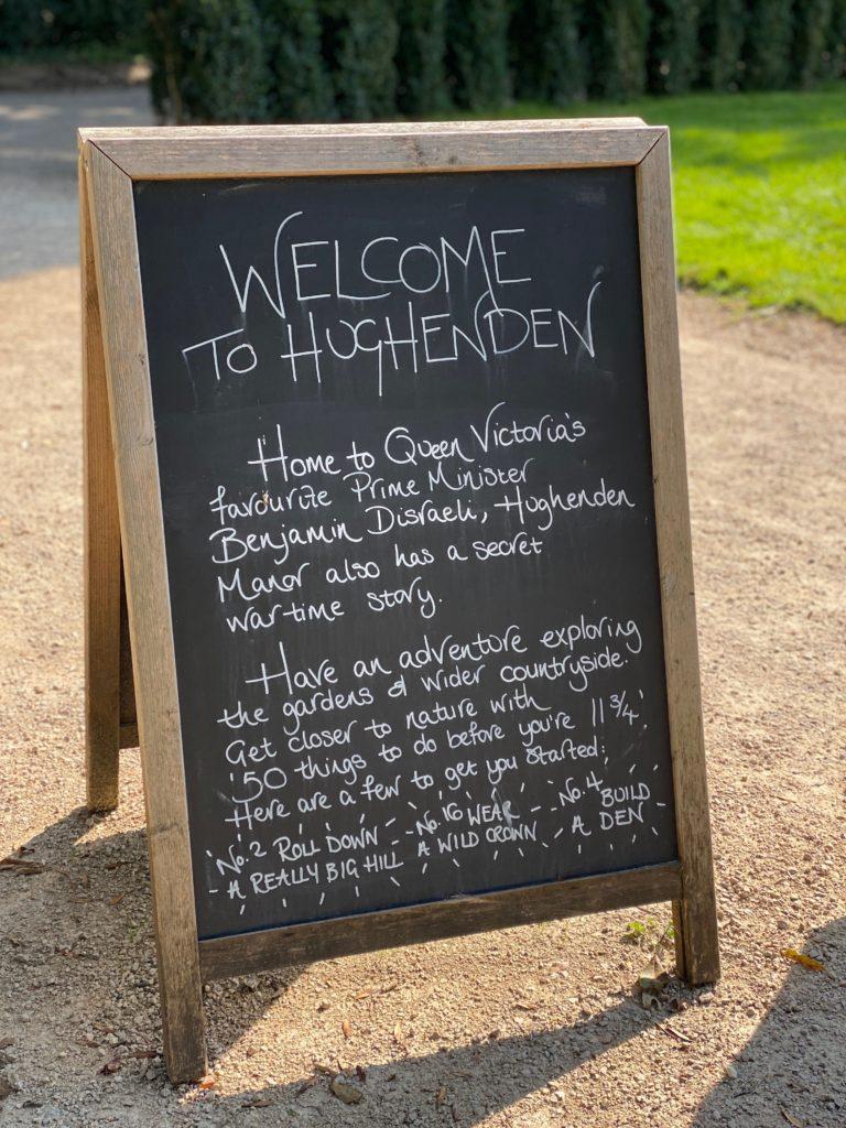 A socially-distanced visit to Hughenden Manor
