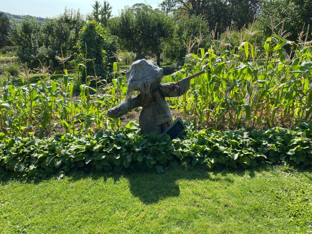 scarecrow at Hughenden Manor