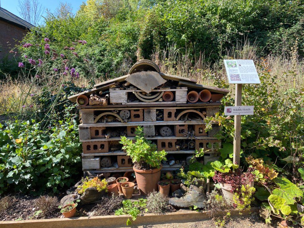 bug hotel at Hughenden Manor