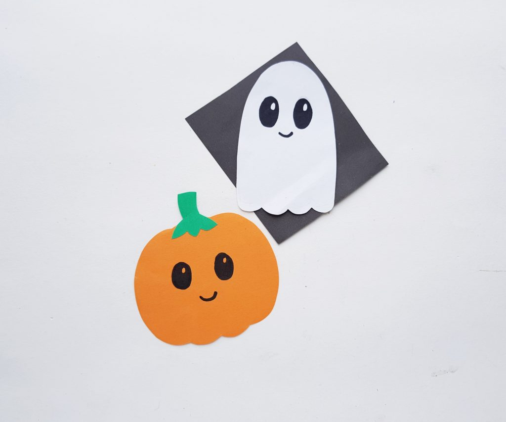 Halloween bookmarks for kids to make