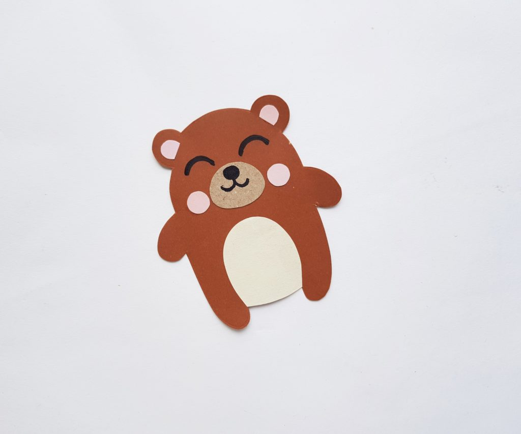 How to make a paper bear